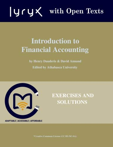 [R.E.A.D] Introduction to Financial Accounting: Exercises and Problems Z.I.P