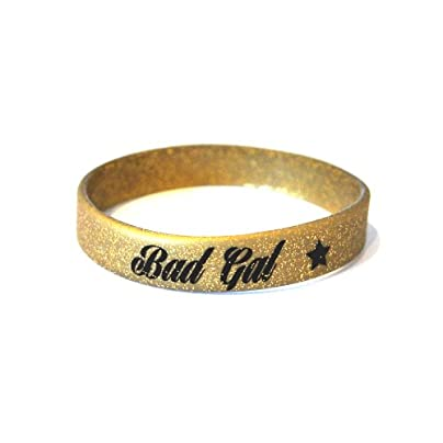 Komonee Bad Gal Gold Silicone Wristband Pack Estimated Price £2.45 -