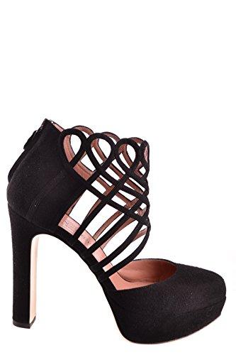 Cuir Twin Noir Mcbi302155o Talons set Femme À Chaussures w1FIwrWq