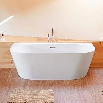 Sanycces Baignoire Design Ovale Torino Muro Blanche 170 Cm Amazon Fr Cuisine Maison