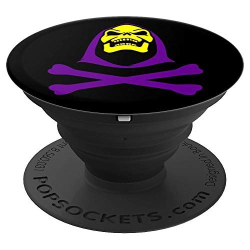 Skelly Cross Bones 80's Kid - PopSockets Grip and Stand for Phones and -