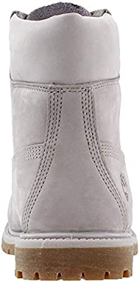 Timberland Womens 6 Inch Premium Boot, Gull Grey Waterbuck