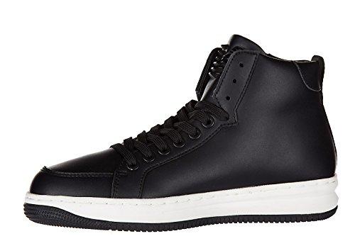 Armani Ea7 Schoenen Schoenen Hoge Sneakers Transformatoren Zwart