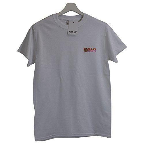 s Dilla Fact Actual Blanc shirt Donuts Xxl J Hip Dillas Hop T vAYqAOx