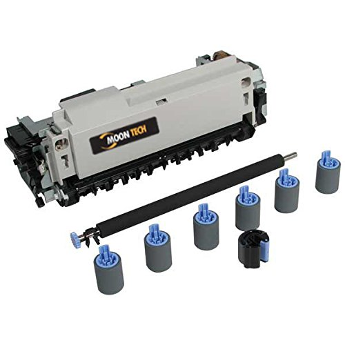 Compatible Maintenance Kit (Includes Fuser Assembly Separation Rollers Transfer Roller Feed Rollers Pickup Roller Instruction Guide) (Part Number: C4110-67923) (150000 Yield) For Hp Laserjet 5000