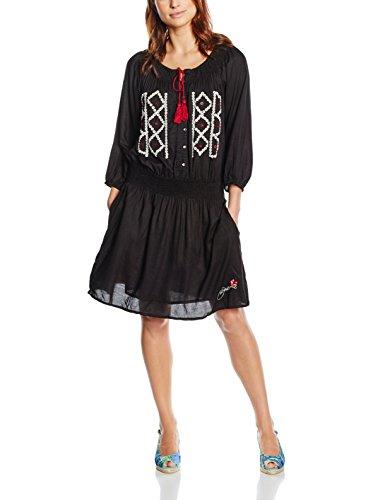 Desigual Robe Tribal Noir 50v28p2