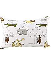 Kids Toddler Pillowcases UOMNY 2 Pack 100% Cotton Pillow Caver Pillowslip Case