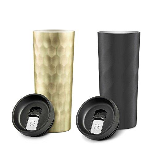 Ello Hammertime Stainless-Steel Travel Mugs (2 pack)