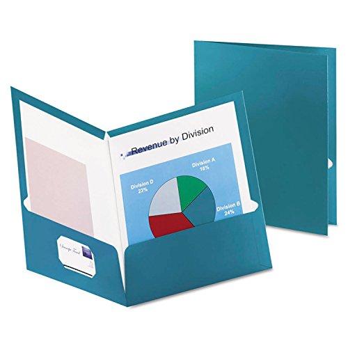 Oxford Metallic Laminated Twin Pocket Folders