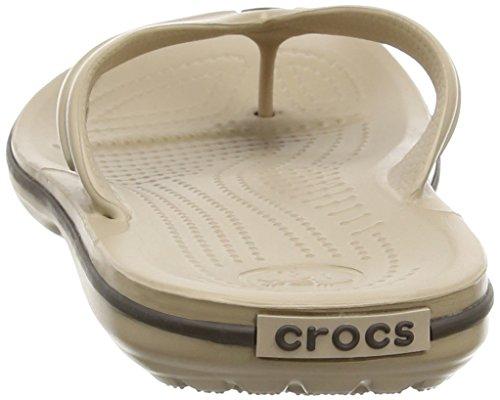Adulte Beige Crocs Tongs Crocband Flip Mixte tumbleweed espresso xXxqP8wHI