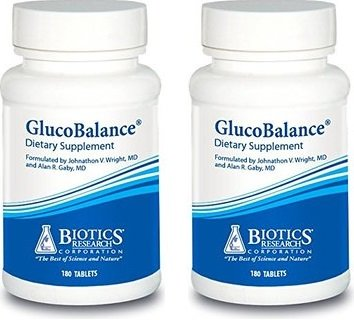 Biotics Research GlucoBalance 180caps (180x2)