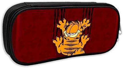 Garfield - Estuche para lápices de dibujos animados de gato, estuche de almacenamiento, para viajes, para la escuela, viajes y excursiones: Amazon.es: Oficina y papelería