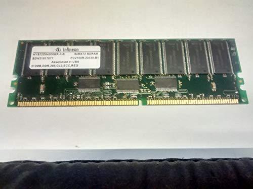 MEMORY, HYS72D64000GR-7-B 64MX72 SDRAM PC2100R-20330-B1 512MB, DDR,