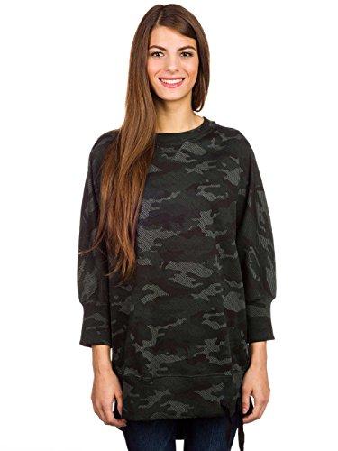 Volcom Damen Sweater Willow Sweater Dark Camo