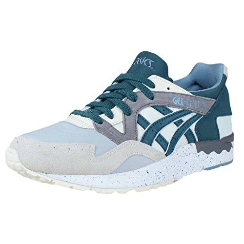 Asics Gel Lyte V Cream Deep Teal Green Mens Running Fashion H7q2n 0058