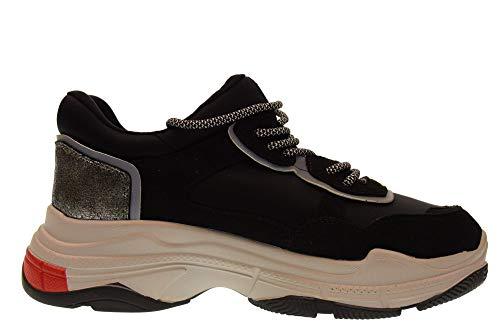 Gold Scarpe Sneakers Nero Donna Basse amp; Gt528 Urqx5wU4