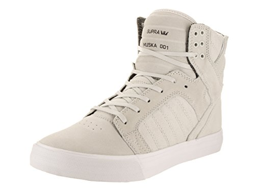Supra KIDS SKYTOP S13030K - Zapatillas de lona para unisex-niño, color varios colores, talla 29 Light Grey-White