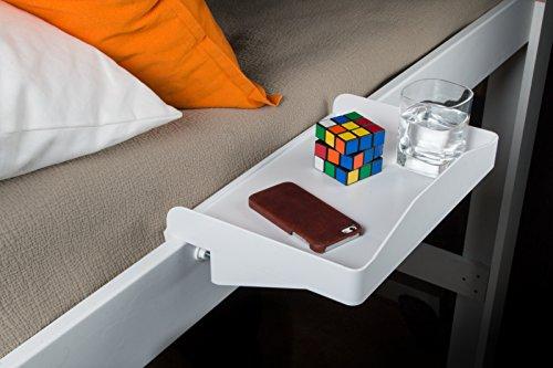 Bunk Buddy Bedside Shelf White product image