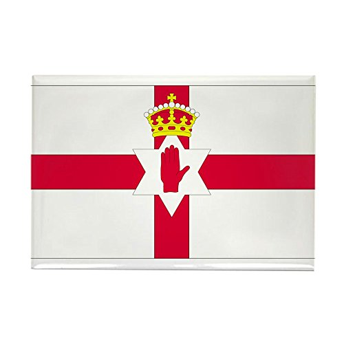 CafePress Northern Ireland Rectangle Magnet Rectangle Magnet, ()