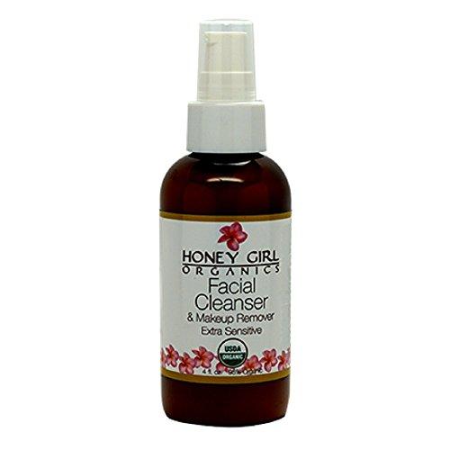 Honey Girl Organics Facial Cleanser & Makeup Remover Extra Sensitive