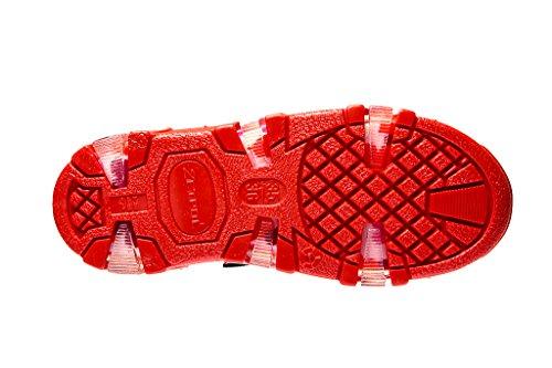 Zetpol Kinder Gummistiefel gefüttert Aquarius Pink/Rot