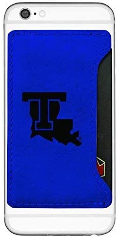Cell Phone Card Holder Wallet LA Tech Bulldogs
