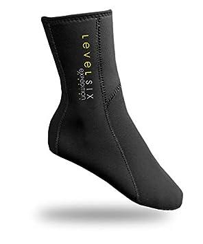 Nivel seis hombres de rock neopreno calcetines, hombre, negro: Amazon.es: Deportes y aire libre