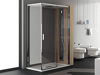 Teuco Chapeau baño turco caja esquina ducha con puerta corredera ...