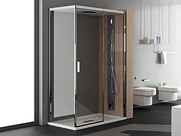 Teuco chapeau bagno turco box doccia ad angolo con porta