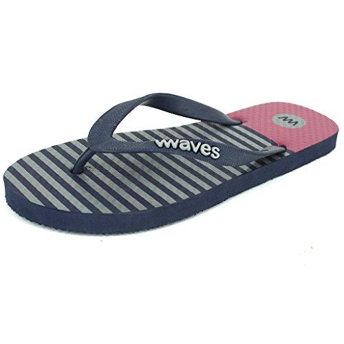 ... Bølger 100% Naturlig Gummi Flip Flops For Menn Regular Fit Sandaler  Tøfler - Favoritter Samling