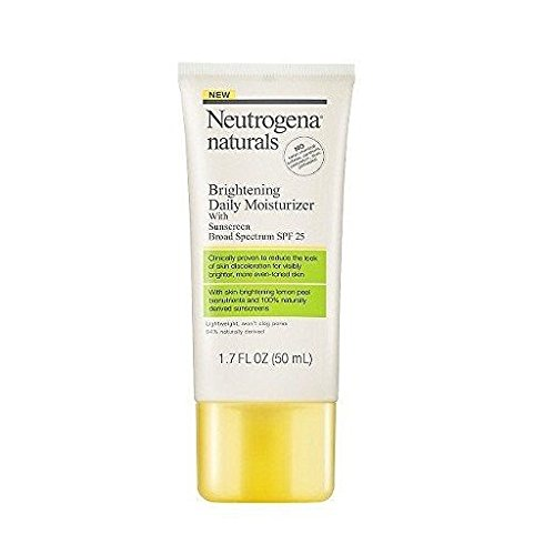 Neutrogena Naturals Brightening Daily Moisturizer With Sunscreen Broad Spectrum Spf 25, 1.7 Fluid Ounce Brightening Sunscreen