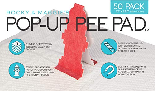 Pop-Up Pee Pad, 50 pads/box by Pop-Up Pee Pad (Image #5)