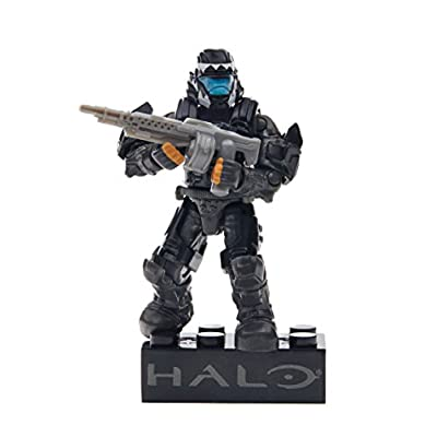 Mega Bloks Halo Drop Pod Metallic Stealth ODST Toy Figure: Toys & Games