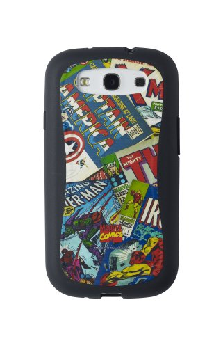 Anymode Marvel Comics Avengers Assemble Ruggedized Case for Samsung Galaxy - S3 Spiderman Case Samsung Galaxy