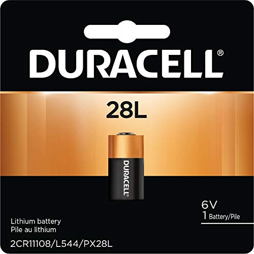 Duracell PX28LBPK Photo Batteries, Size 6.0 Volt Lithium ()