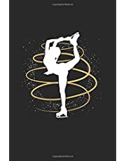 """Figure Skating: Cool Animated Design Figure Skating Lover Notebook Composition Book Novelty Gift (6""""x9"""") Lined Notebook to write in"""