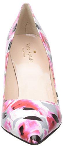 Licorice Printed new spade kate Deep Garden Nappa york Rose Pink xOC6Ow