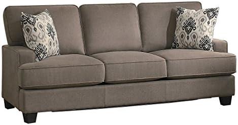 Amazon.com: homelegance Kenner clásico moderno t-cushion ...