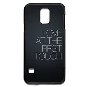 Samsung Galaxy S5 Cases Love First Touch Design Hard Back Cover Shell Desgined By RRG2G by runtopwell