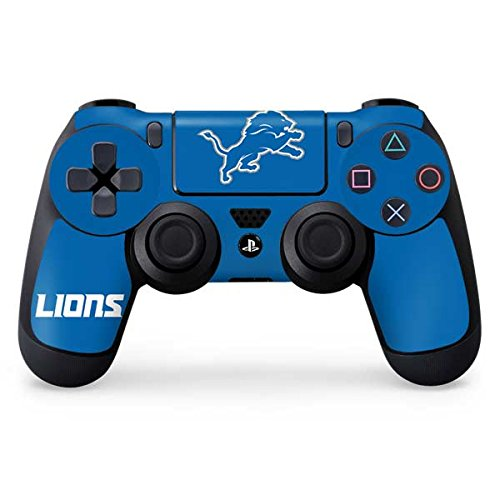 NFL Detroit Lions Distressed Skin for Sony PlayStation 4/ PS4 Dual Shock4 (Detroit Lions Store)