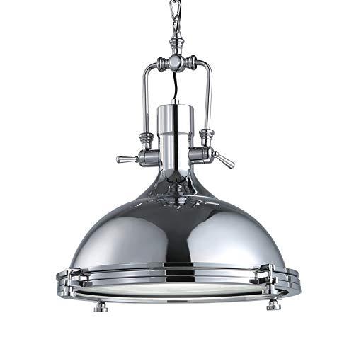 SNOOKER Modern Industrial Chandelier Modern Design Ceiling Lighting -7W LED E27 Milk White Light Bulb 1-AC110V-240V Silver Baking Surface -0259