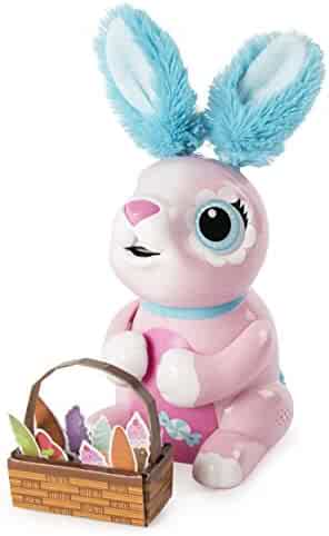 Zoomer Hungry Bunnies Shreddy, Interactive Robotic Rabbit That Eats, Ages 5 & Up