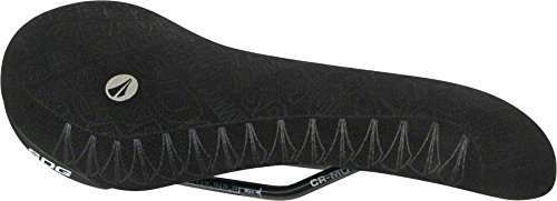 SDG Apollo Saddle Black Kevlar Cover/Black Silicone Gripping Logos Chromoly Rails