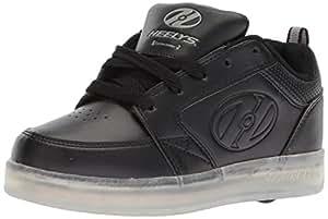 Heelys Premium 1 LO Shoes, Silver, Size 1