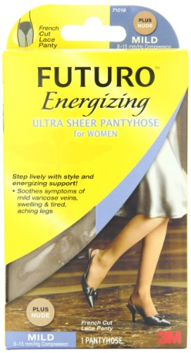 FUTURO Ultra Sheer Pantyhose Women, Plus, Nude,  F - The On Names Of View Ladies