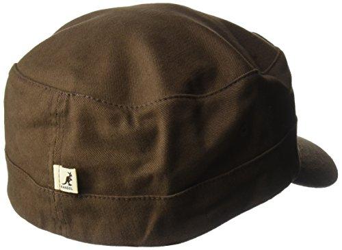 Cotton Army Kangol Gorra Twill unisex Cap Marrón FZw4zwqx