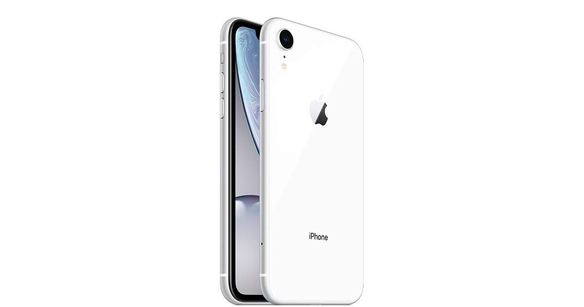 Apple iPhone XR, Fully Unlocked, 64 GB - White (Renewed) by Apple