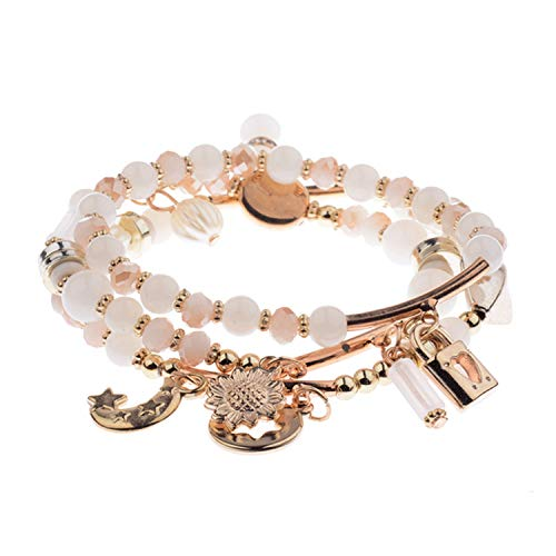 jfcn-e Spring Summer Women's Bracelet Set 3Pcs/Charm Beads Bracelet Jewelry for Ladies HXB002,3-3 from jfcn-e
