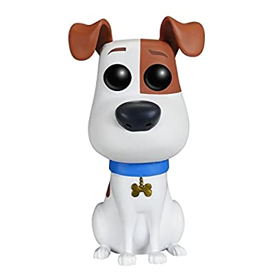 Funko POP Movies: Secret Life of Pets Action Figure - Max: Funko Pop! Movies:: Toys & Games