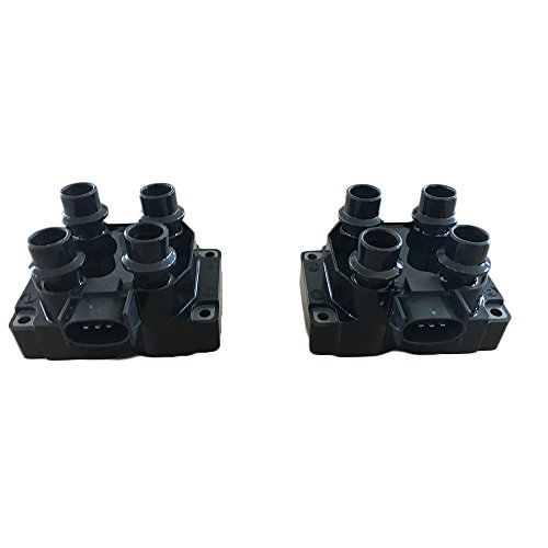Motorhot Pack of 2 Ignition Coils fit for ford Lincoln Mercury Mazda 1988-2003 Compatible with Part FD487 DG530 C924